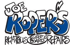 Joe Roper's Righteous Surfboard Repairs